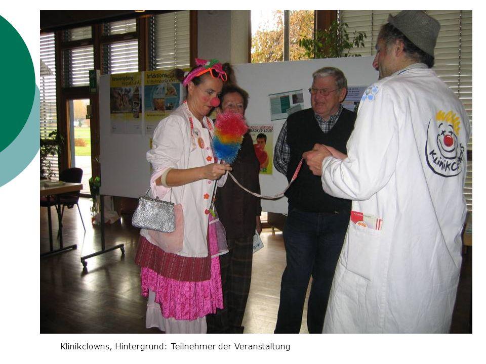 Klinikclowns, Hintergrund: Teilnehmer der Veranstaltung