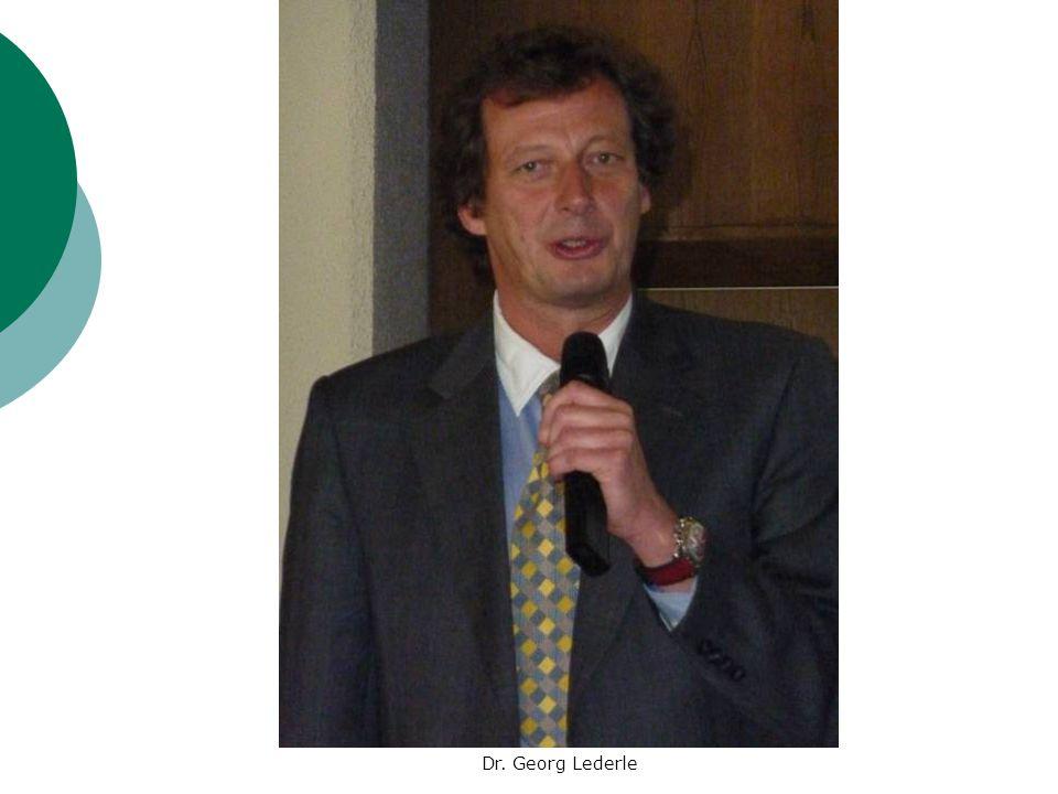 Dr. Georg Lederle