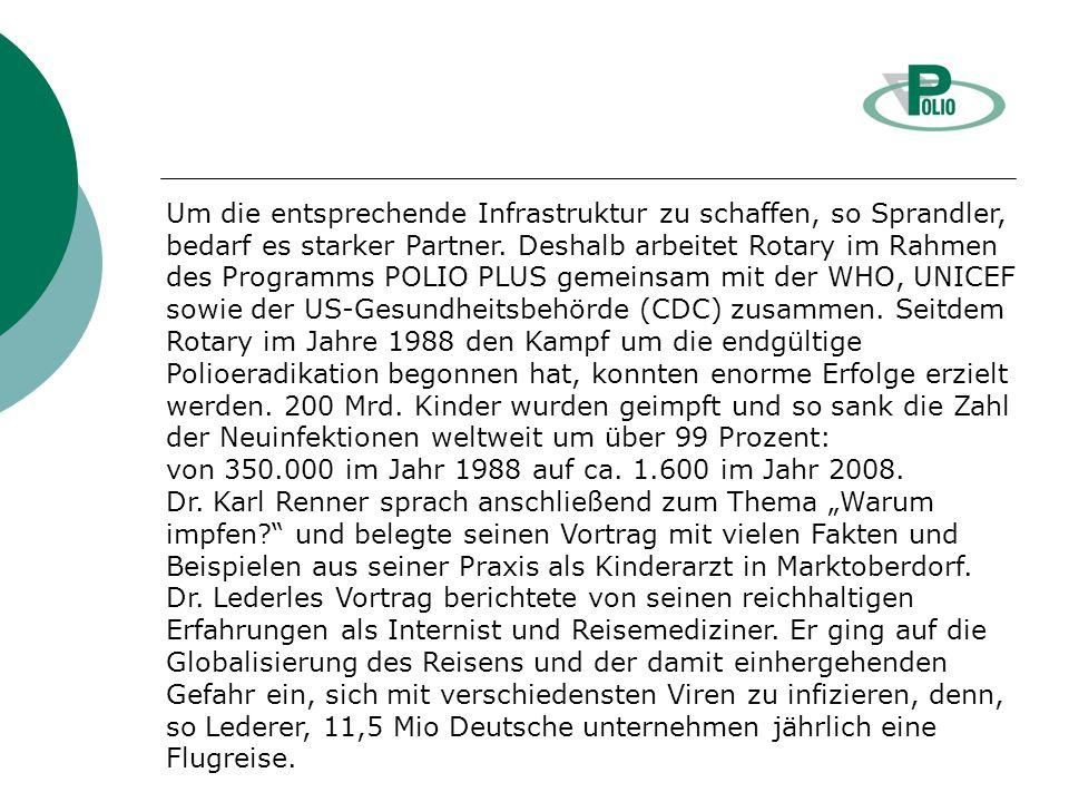 Präsident-Rotary Norbert Kees