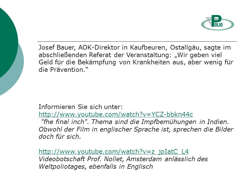 Keine Angst vor Nadeln Bayerischer Impf-Informationstag am 31.