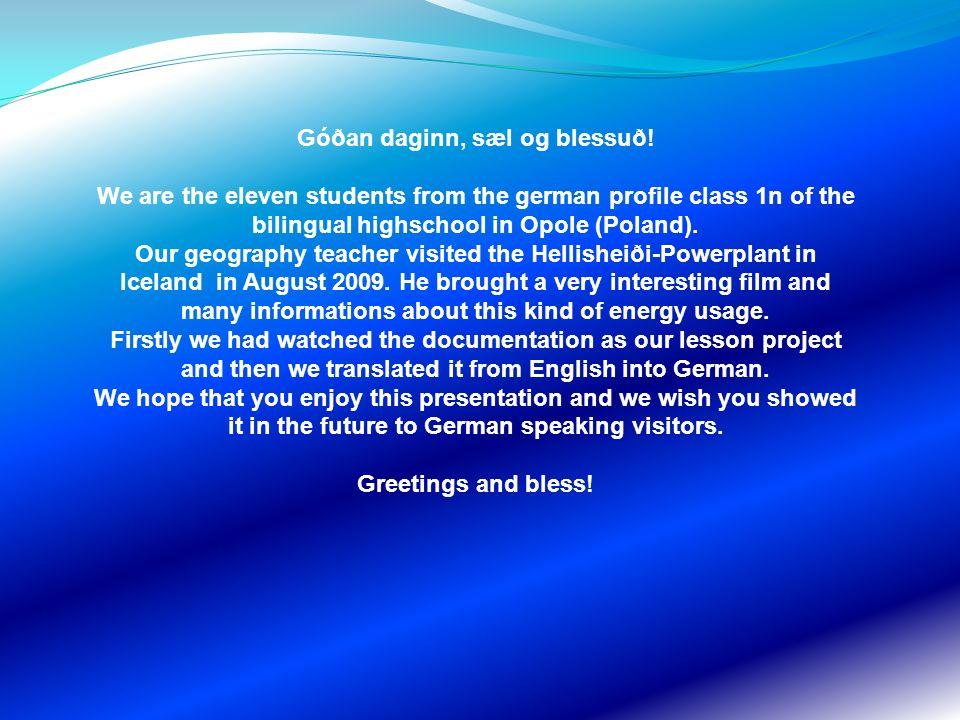 Unser Geographie-Lehrer Herr Martin Cichon auf Island… Our geography teacher Mr.