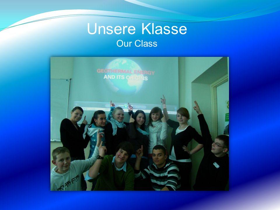 Unsere Klasse Our Class