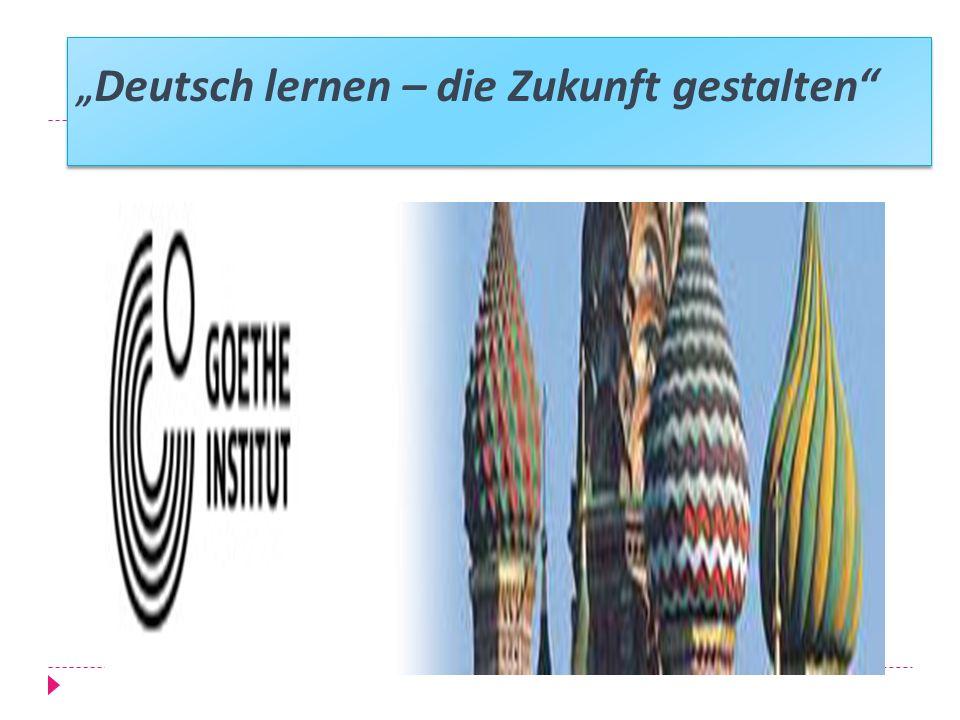 Deutsch lernen – die Zukunft gestalten
