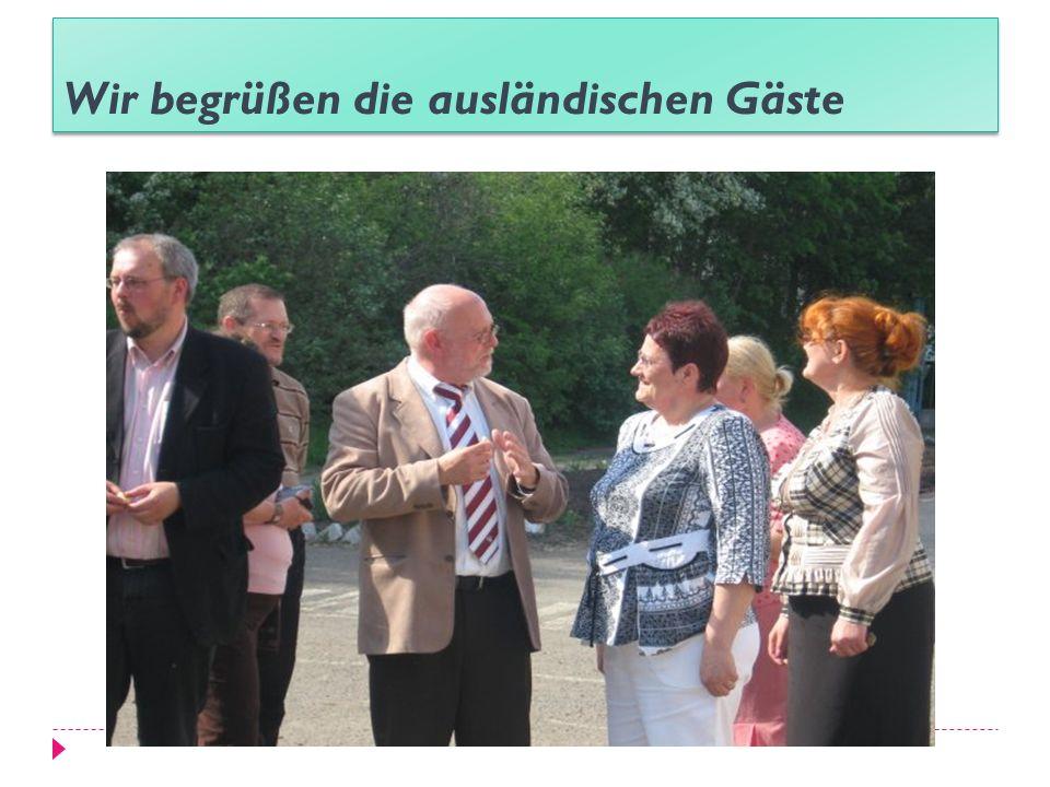 Die Absolventinnen nehmen auch an den internationalen Projekten teil DAAD Deutscher Akademischer AustauschdienstDeutscher Akademischer Austauschdiens LOGO (Landwirtschaft und ökologisches Gleichgewicht mit Osteuropa)