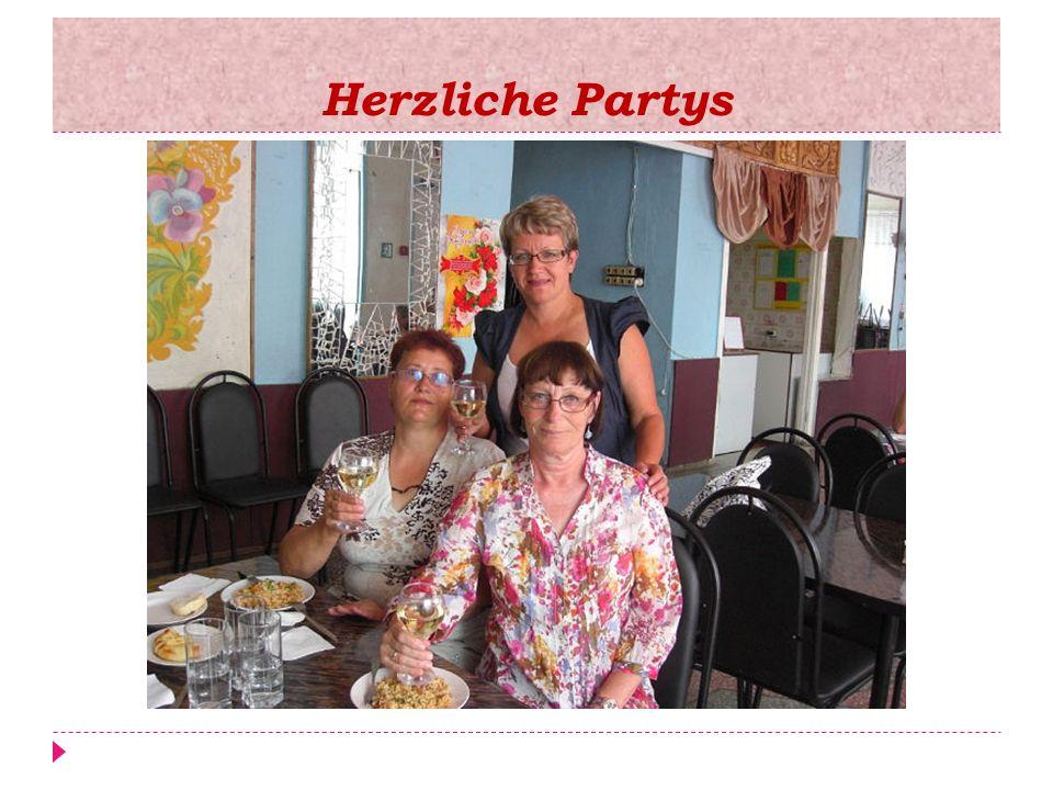 Herzliche Partys
