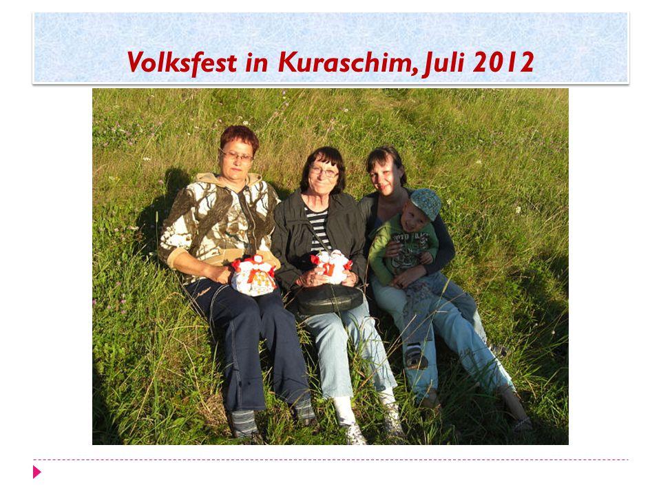 Volksfest in Kuraschim, Juli 2012