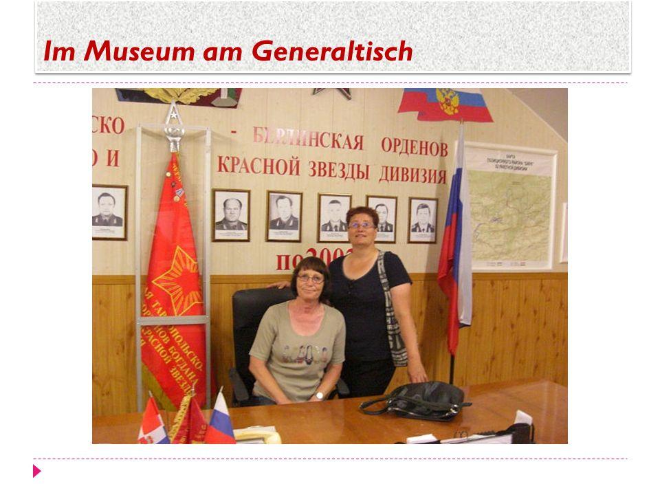 Im Museum am Generaltisch