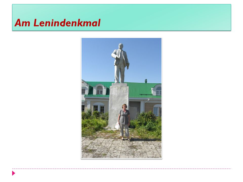 Am Lenindenkmal