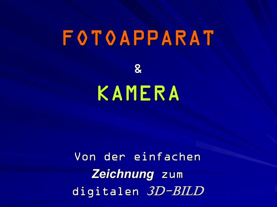 FOTOAPPARAT & KAMERA Von der einfachen Zeichnung zum digitalen 3D-Bild
