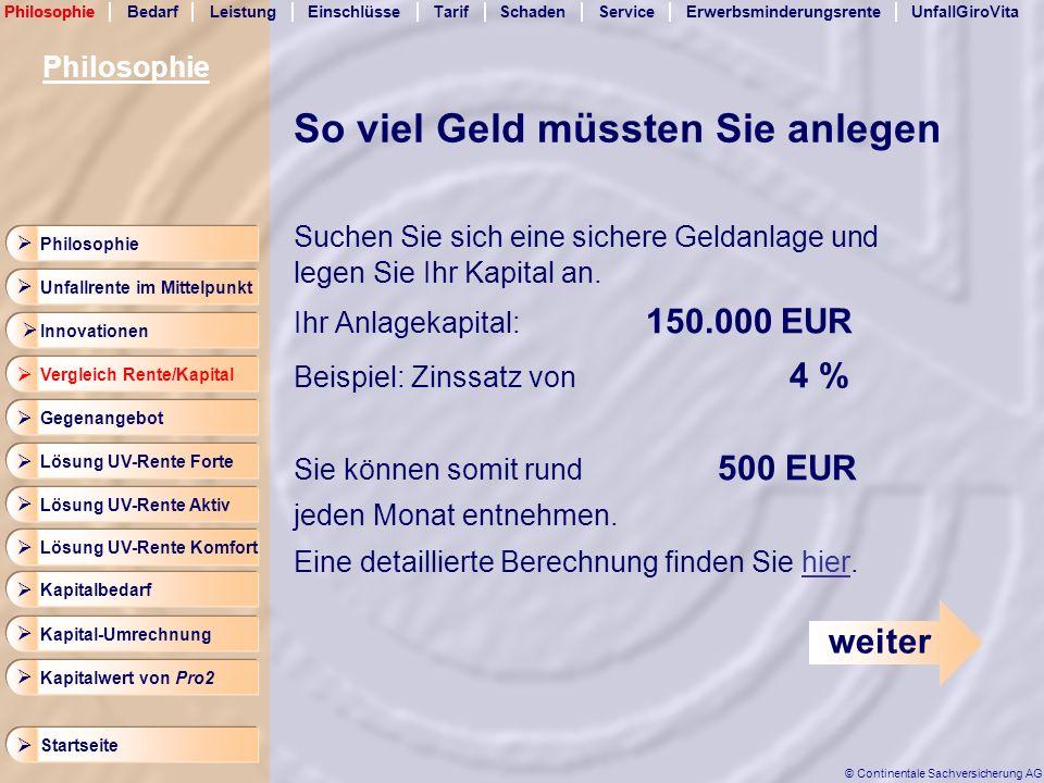 LeistungEinschlüsseTarifSchadenServicePhilosophieErwerbsminderungsrenteUnfallGiroVita Startseite © Continentale Sachversicherung AG Bedarf Arbeitnehmer 573 EUR 1.250 3.250 2.500 1.750 3.500 2.000 2.750 4.000 2.250 1.500 4.250 3.750 4.500 3.000 1.000 Volle Erwerbsminderungsrente Halbe Erwerbsminderungsrente 1.146 EUR Berechnung Ihrer Erwerbsminderungsrente Monatliches Bruttoeinkommen Bedarf