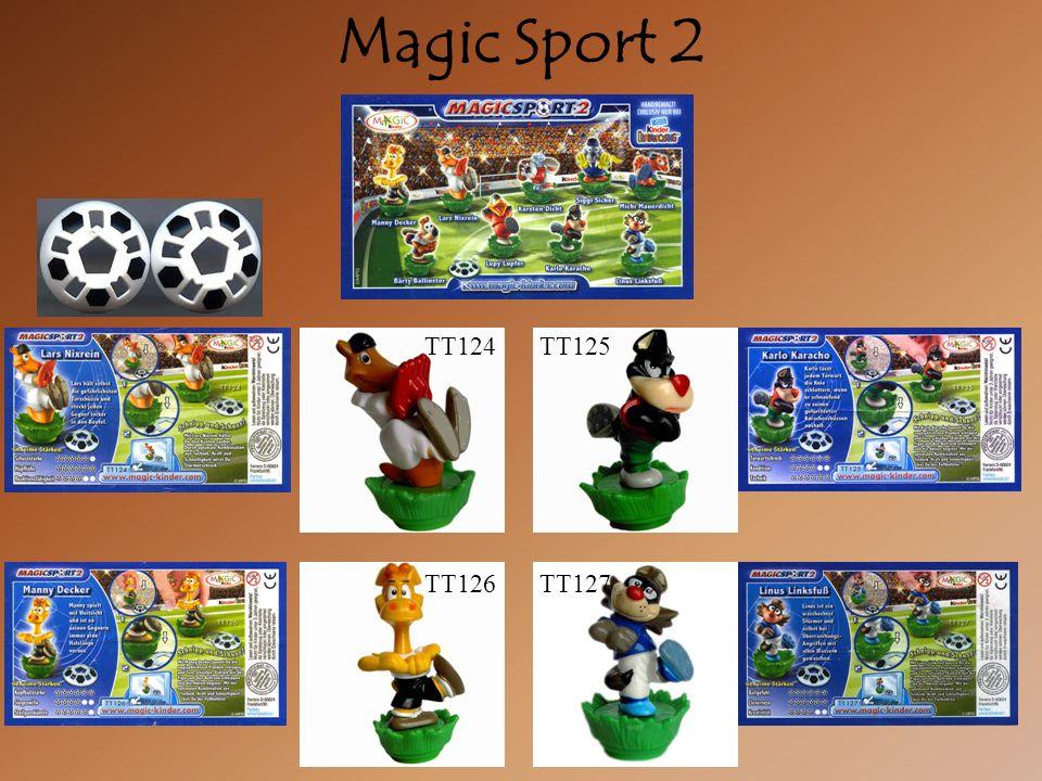 Magic Sport 2 TT124TT125 TT126TT127