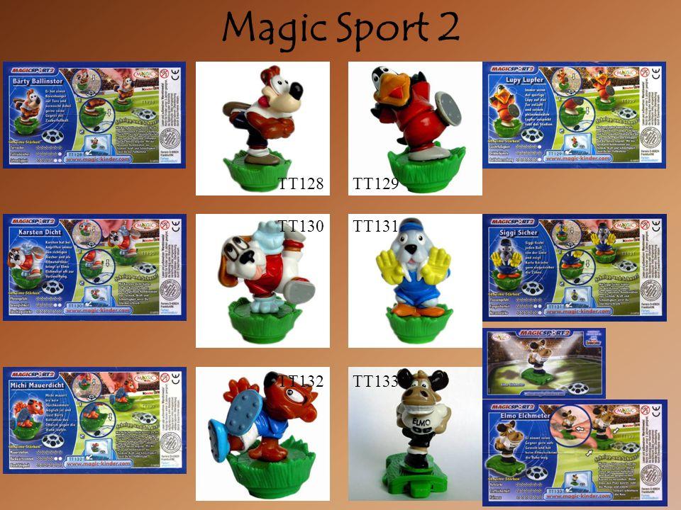 Magic Sport 2 TT130TT131 TT132TT133 TT128TT129