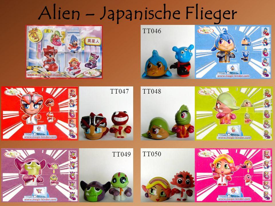 Alien – Japanische Flieger TT047 TT046 TT048 TT049 TT050
