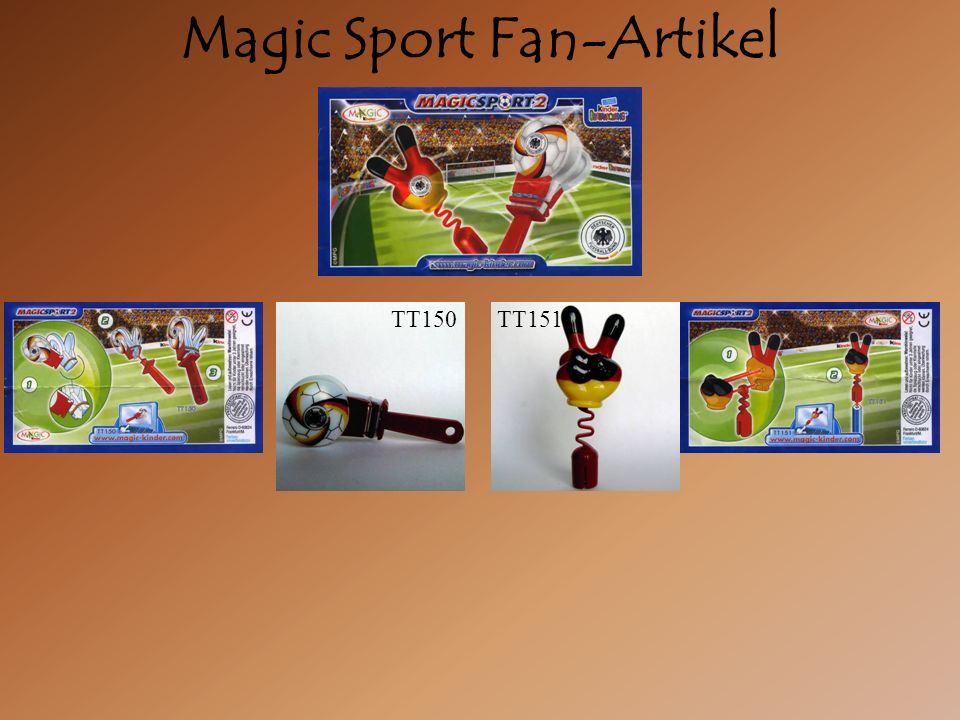 Magic Sport Fan-Artikel TT150TT151