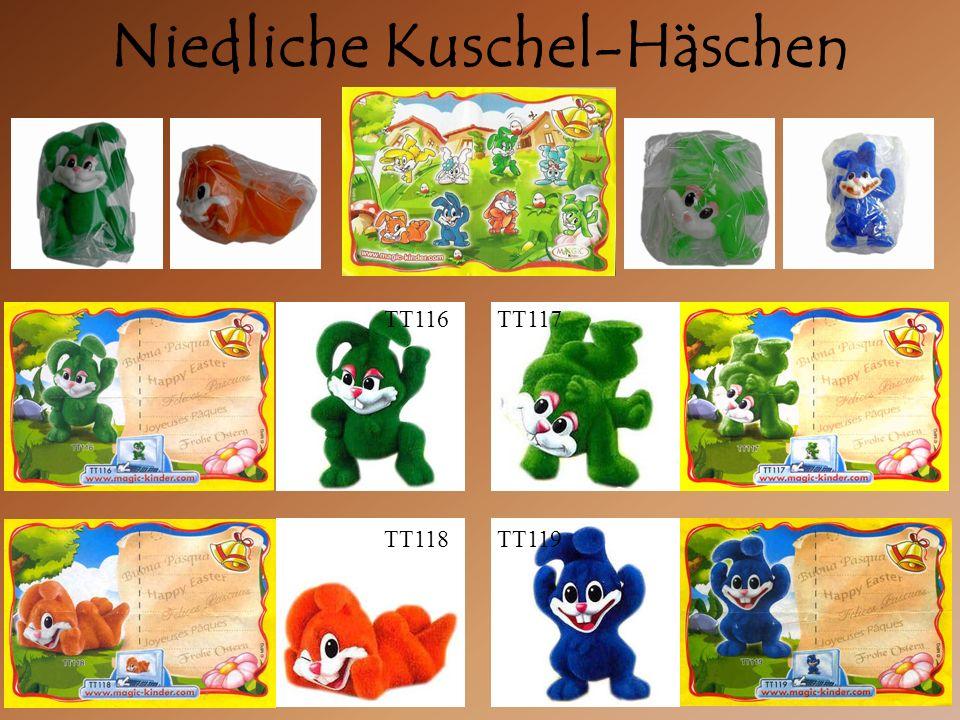 Niedliche Kuschel-Häschen TT119TT118 TT116TT117