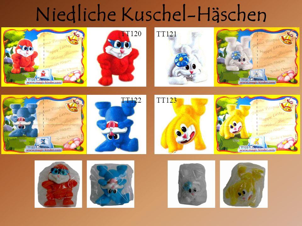 Niedliche Kuschel-Häschen TT121 TT120 TT122TT123