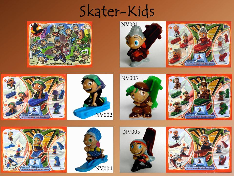 Skater-Kids NV004 NV002 NV003 NV005 NV001