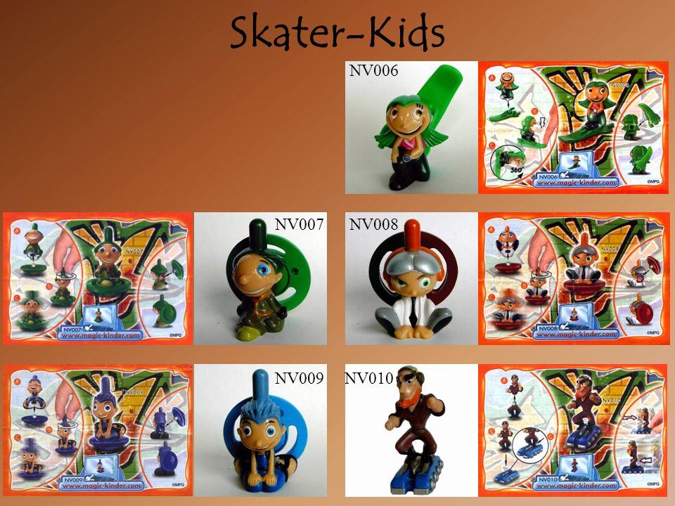 Skater-Kids NV009 NV007NV008 NV010 NV006