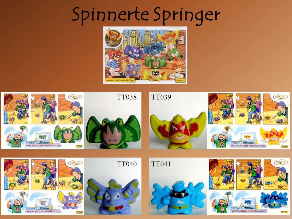 Spinnerte Springer TT041TT040 TT038TT039