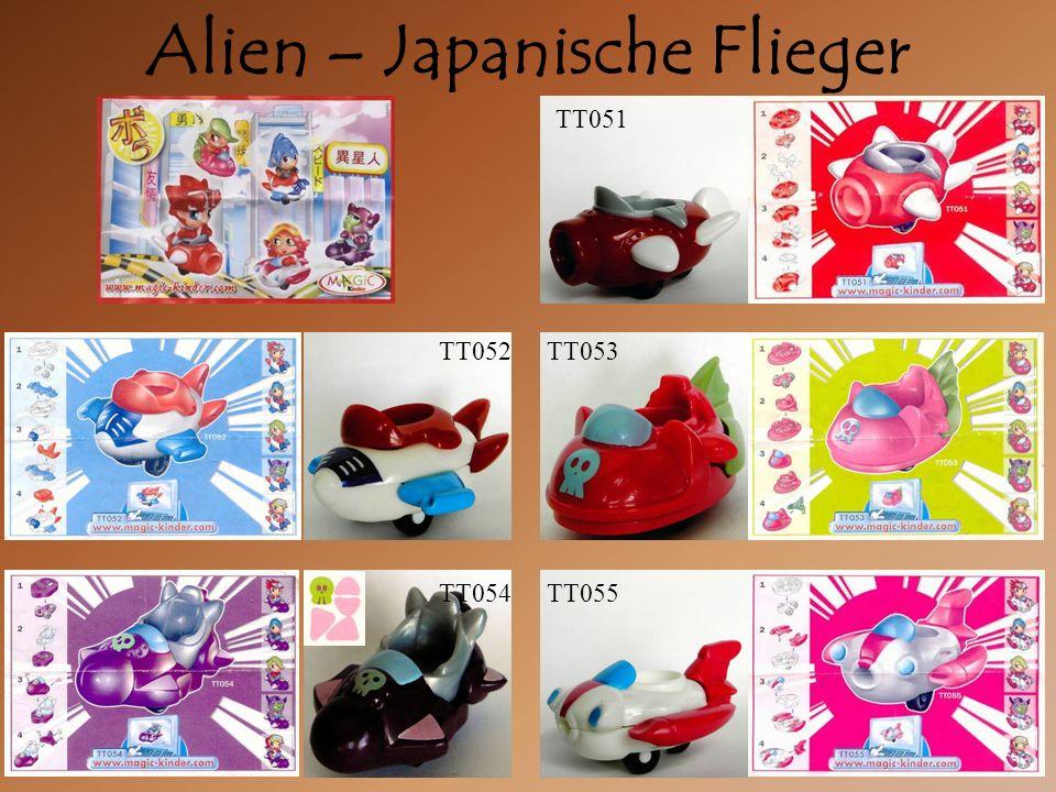 Alien – Japanische Flieger TT052 TT051 TT053 TT054TT055