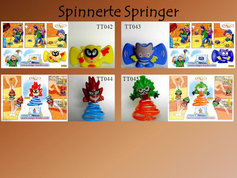 Spinnerte Springer TT045 TT044 TT042TT043