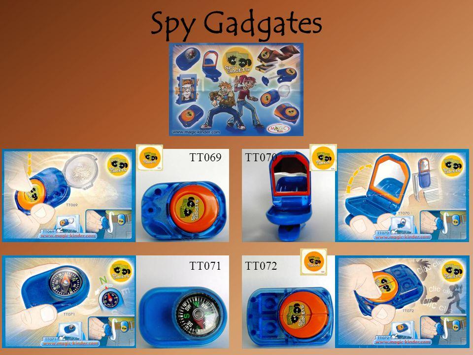 Spy Gadgates TT070TT069 TT071TT072