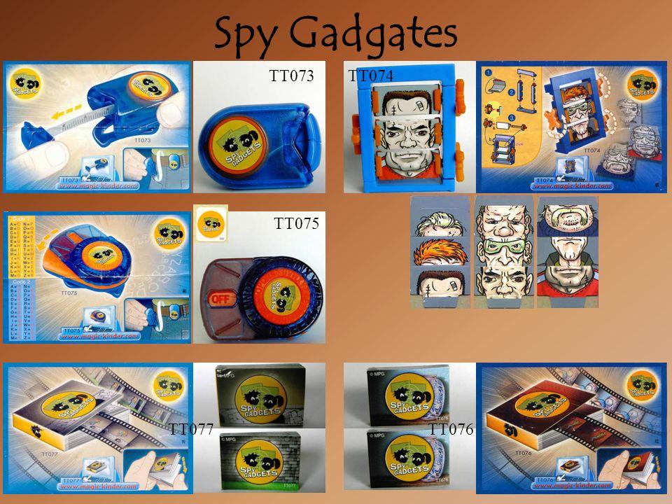 Spy Gadgates TT074TT073 TT075 TT076TT077
