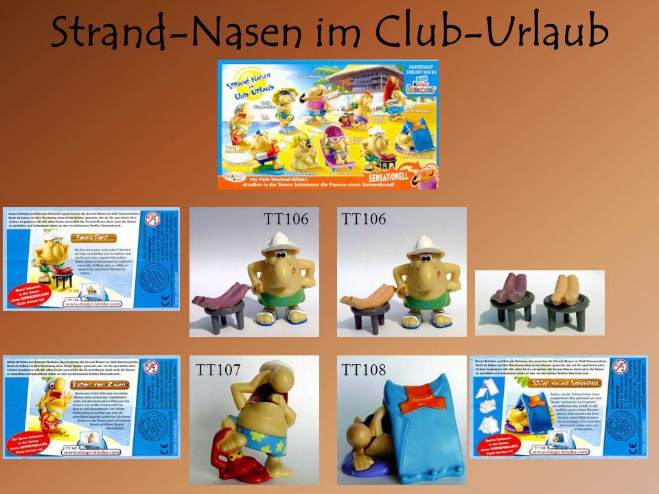 Strand-Nasen im Club-Urlaub TT106 TT107TT108 TT106