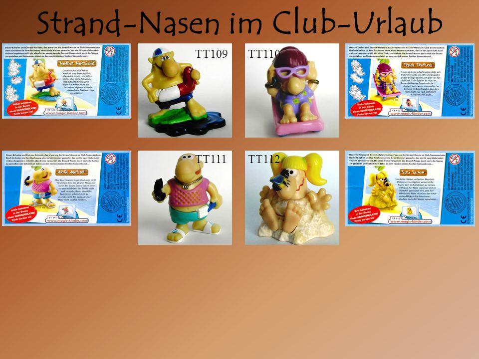 Strand-Nasen im Club-Urlaub TT111TT112 TT110TT109