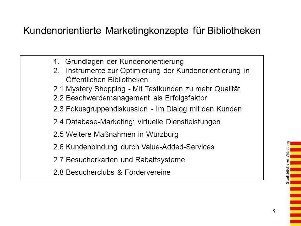 5 1.Grundlagen der Kundenorientierung 2.