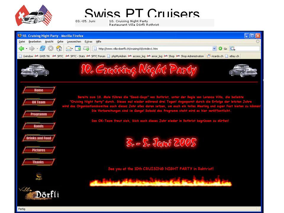 Swiss PT Cruisers Jahresprogramm 2005 Hotel am Park Das im April 1999 eröffnete Hotel am Park liegt unmittelbar gegenüber dem Eingang des Europaparks (circa 50 Meter).