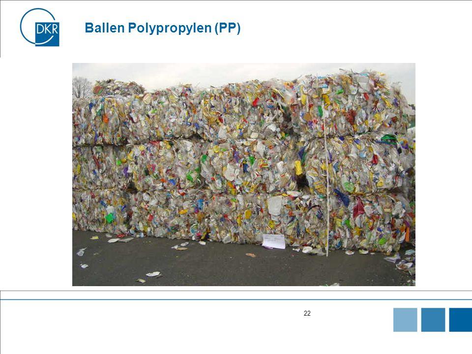 22 Ballen Polypropylen (PP)