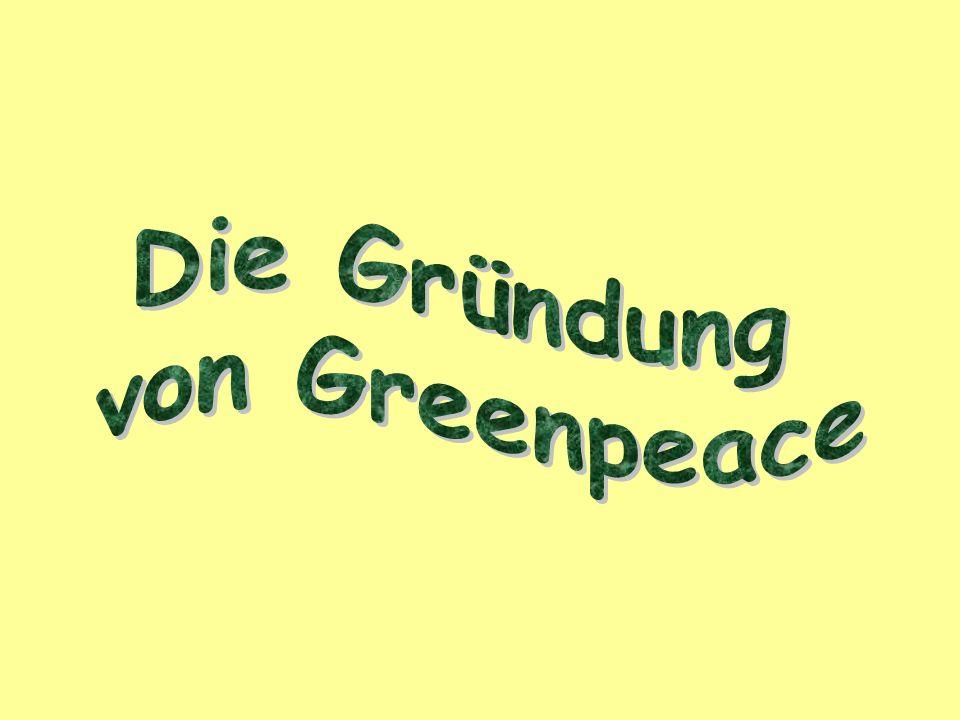 Der Gründer von Greenpeace McTaggart wird am 24.