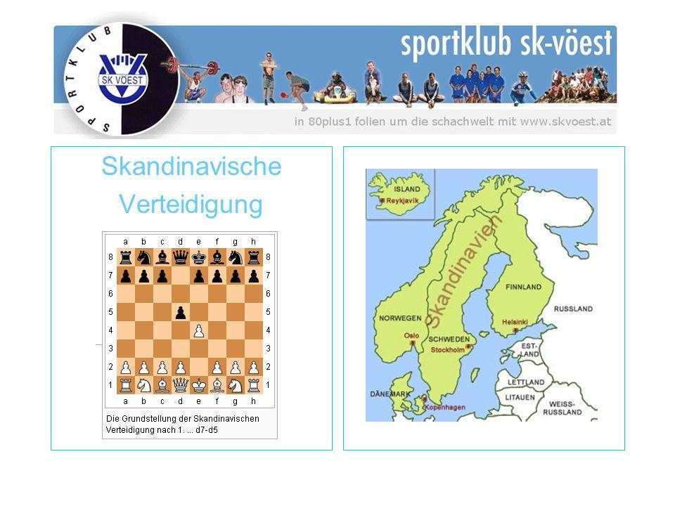 Skandinavische Verteidigung