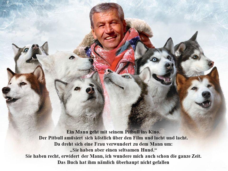 Fritz geht mit seinem Vater spazieren.Da sehen sie ein Hundepärchen in voller Aktion.