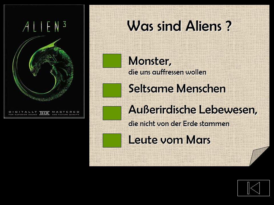 In welchem Film kommen keine Aliens vor ? E.T. Fluch der Karibik Monster vs. Aliens Independence Day