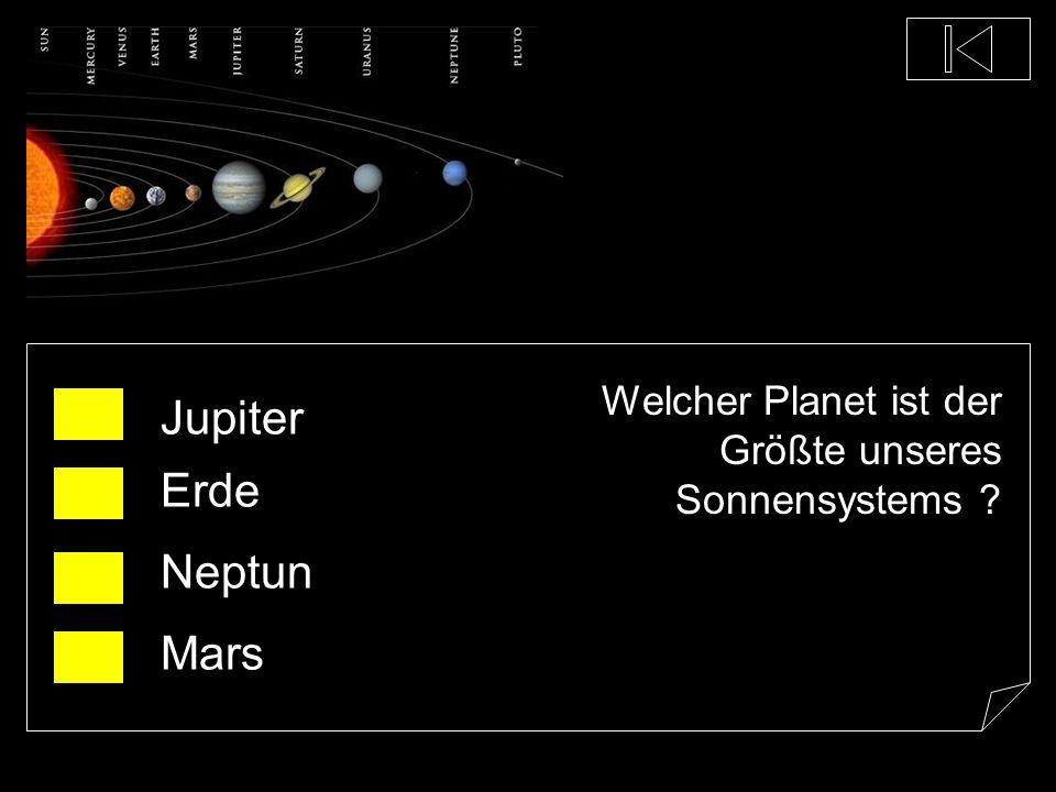 Der wievielt größte Planet ist die Erde ? der Größte der 3.Größte der 5.Größte der Kleinste