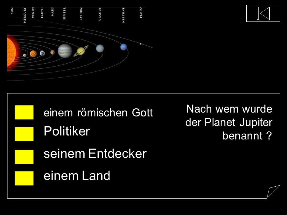 Welcher Planet ist der Größte unseres Sonnensystems ? Jupiter Erde Neptun Mars