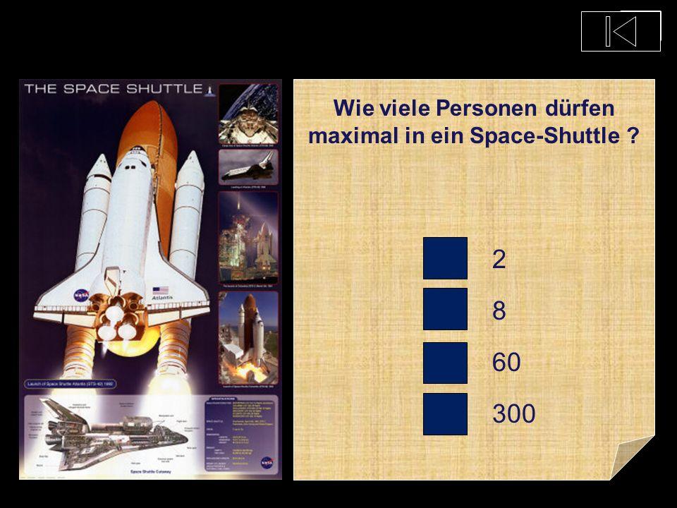 Kann ein Space-Shuttle alleine landen ? Ja Nein Ist mir egal Nur auf dem Wasser