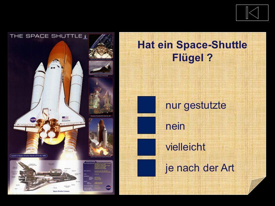 Wie viele Personen dürfen maximal in ein Space-Shuttle ? 2 8 60 300