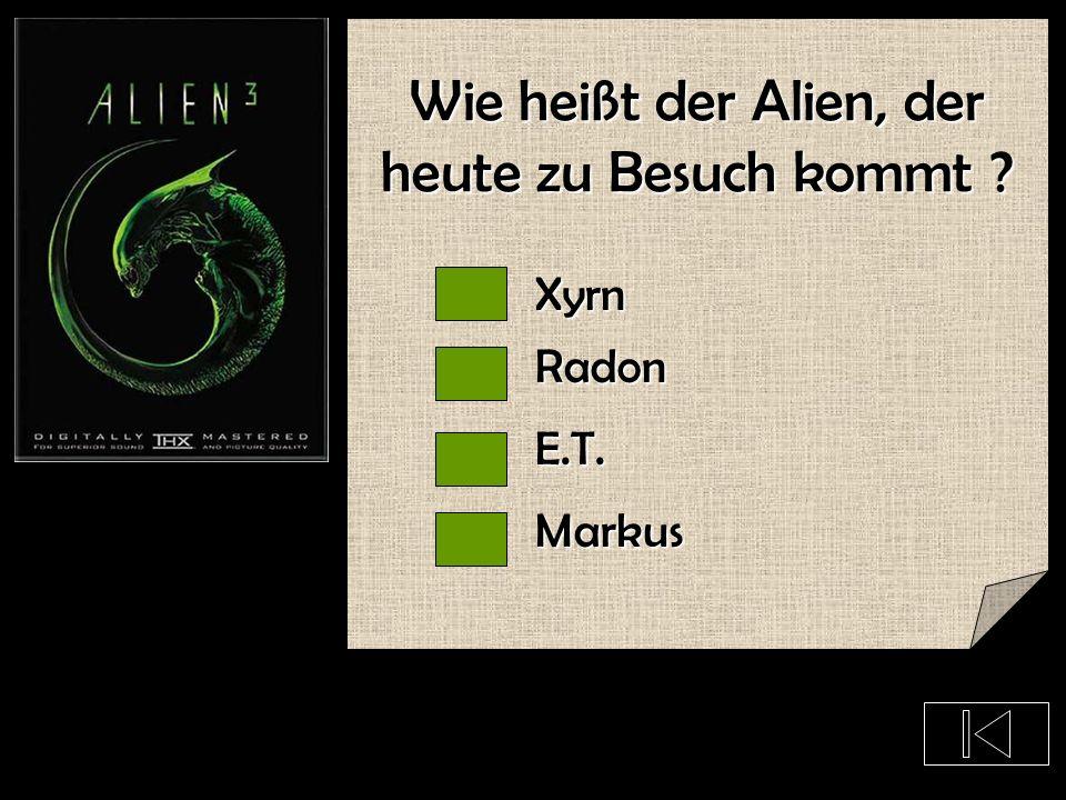 Wie leben wohl die Aliens ?