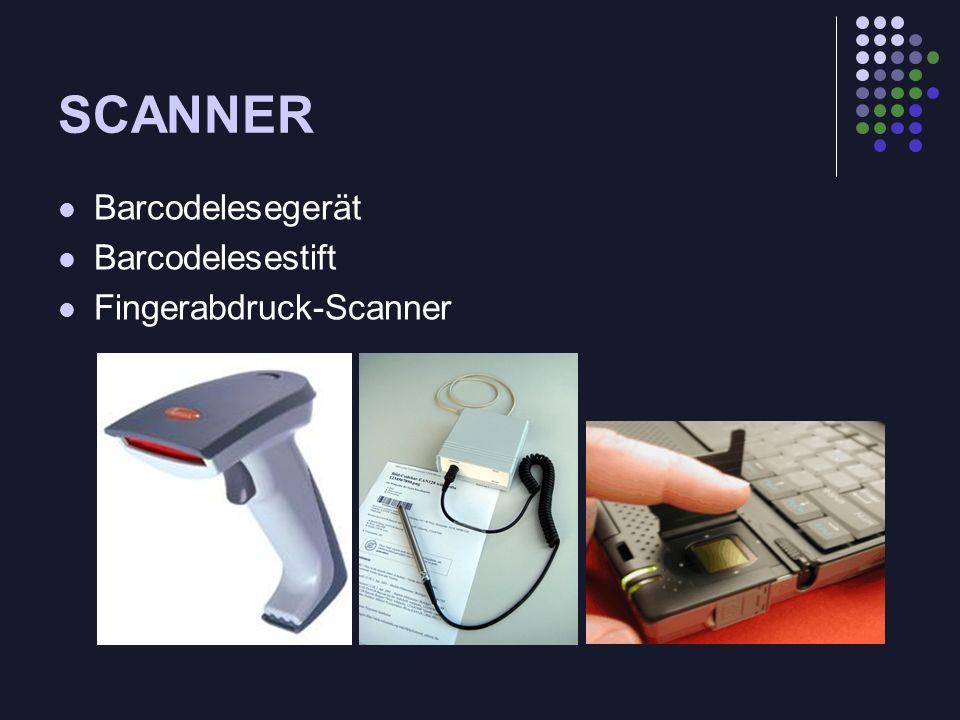 SCANNER OCR = optical caracter recognition (=optische Zeichenerkennung) Demo: Omnipage professional V.10.