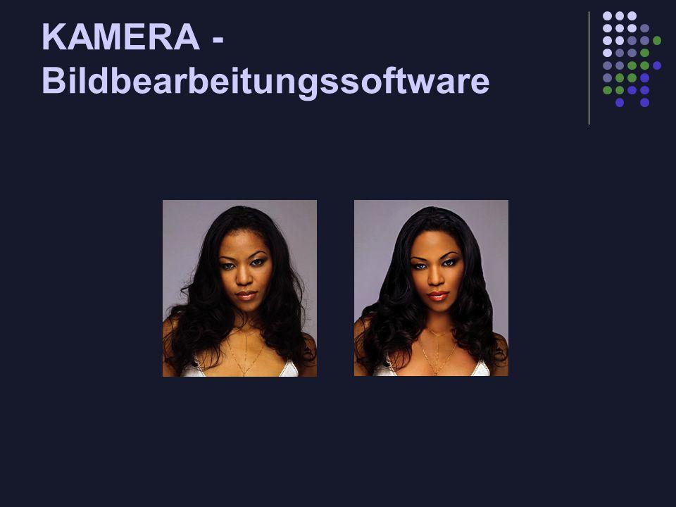 KAMERA - Bildbearbeitungssoftware