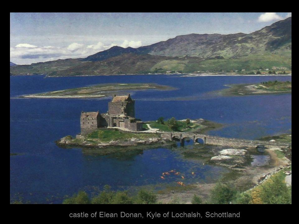 castle of Elean Donan, Kyle of Lochalsh, Schottland