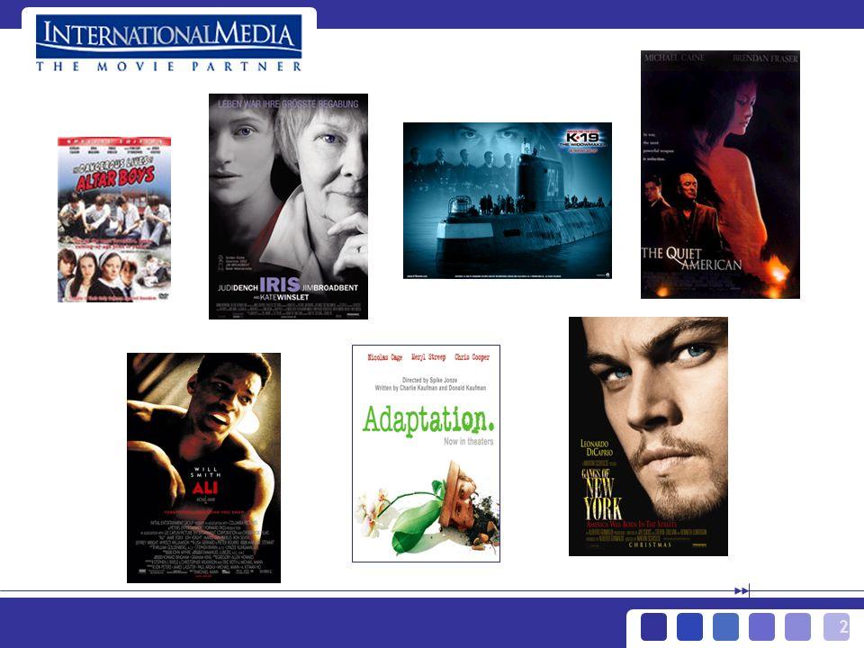 13 > Geschäftsjahr 2002 Abweichungen beim EBITA 2002 -6,7 Finanzierungserlöse K-19 Verschobene Filme und Bibliothek Plan EBITA 21,0 Mio.