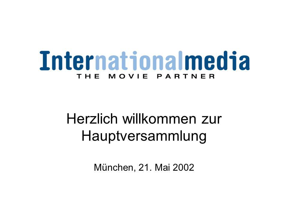 Herzlich willkommen zur Hauptversammlung München, 21. Mai 2002