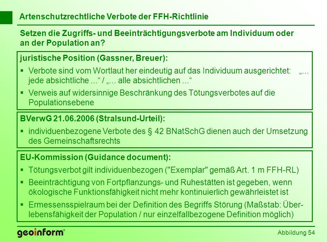 EU-Kommission (Guidance document): Tötungsverbot gilt individuenbezogen (