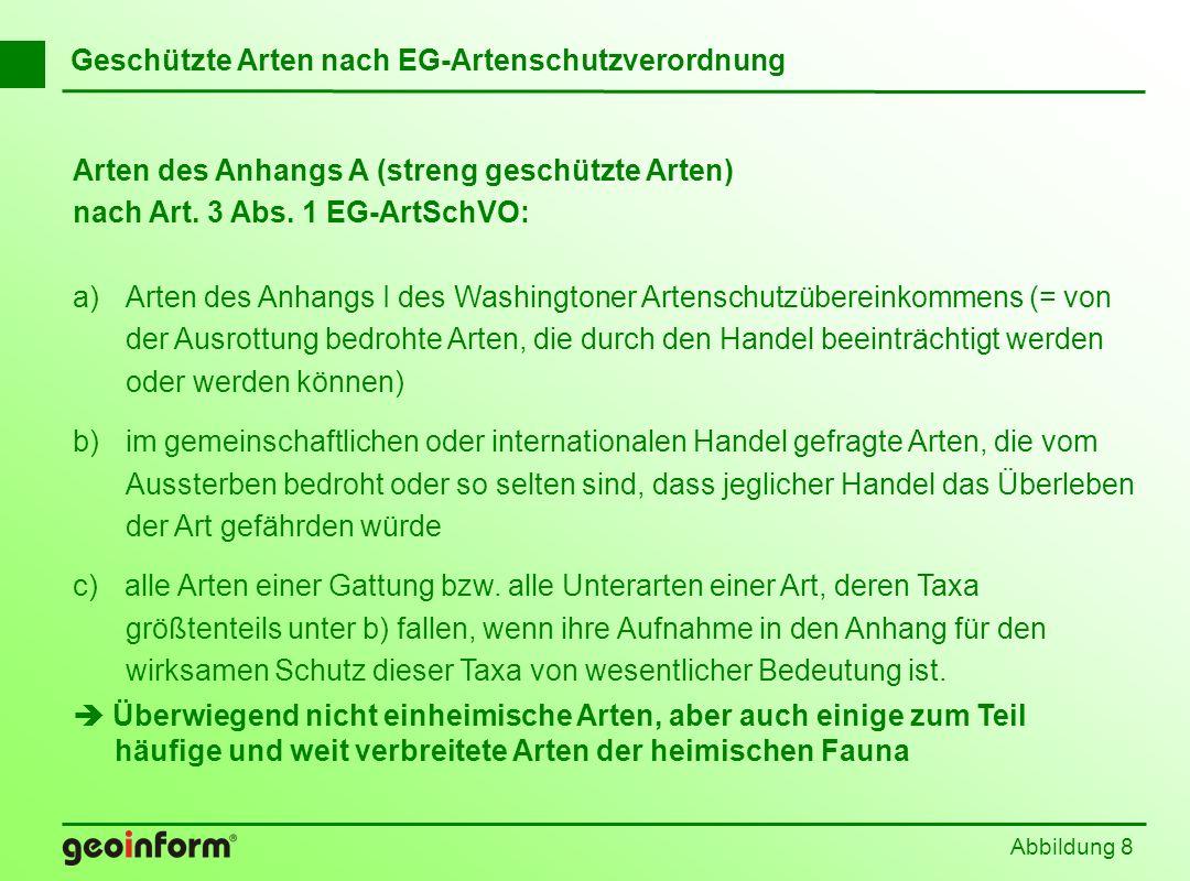Abbildung 89 Berücksichtigung geschützter Arten in der Eingriffsregelung Bestätigung durch Urteil des EuGH vom 13.01.2006: Alte Interpretation nicht mehr haltbar.