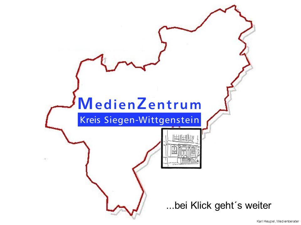 Karl Heupel, Medienberater...bei Klick geht´s weiter