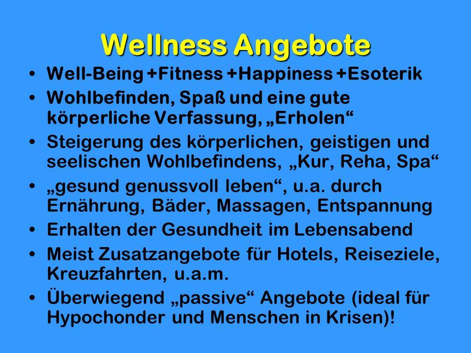 Wellness Angebote Well-Being +Fitness +Happiness +Esoterik Wohlbefinden, Spaß und eine gute körperliche Verfassung, Erholen Steigerung des körperliche